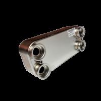 Теплообменник вторичный (ГВС) для 2.25 DAESUNG (ARDERIA, CELTIC)