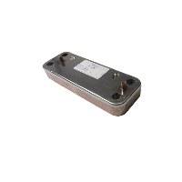 Вторичный пластинчатый теплообменник ГВС (10 pl) BAXI