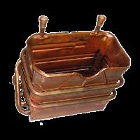 Теплообменник первичный (основной) BOSCH (BUDERUS) GAZ 3000 DHKE / U034
